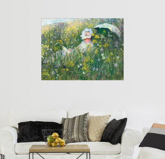 Posterlounge Wandbild - Claude Monet »In der Wiese«