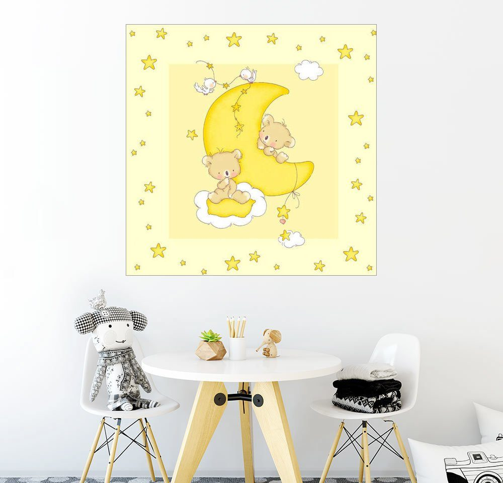 Posterlounge Wandbild - Fluffy Feelings »Mondbären«
