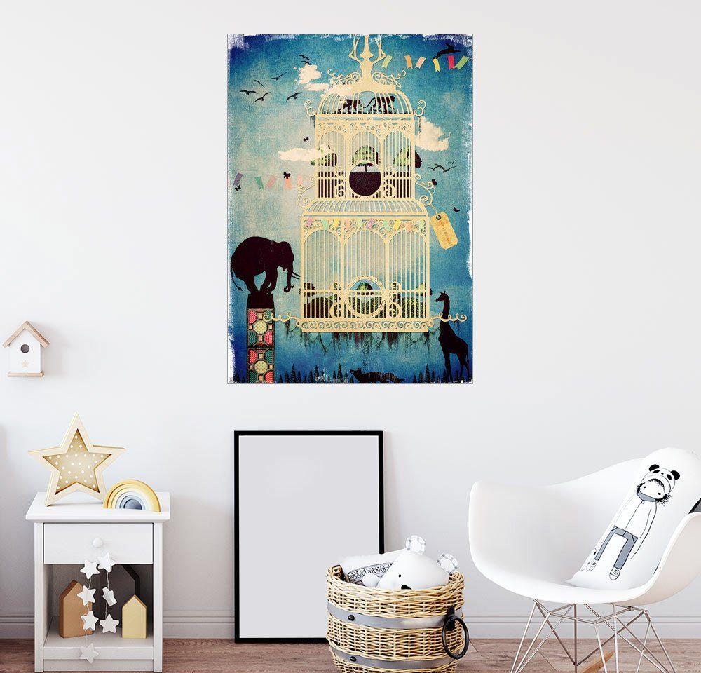Posterlounge Wandbild - Sybille Sterk »Der Käfig III Ruf der Wildnis«