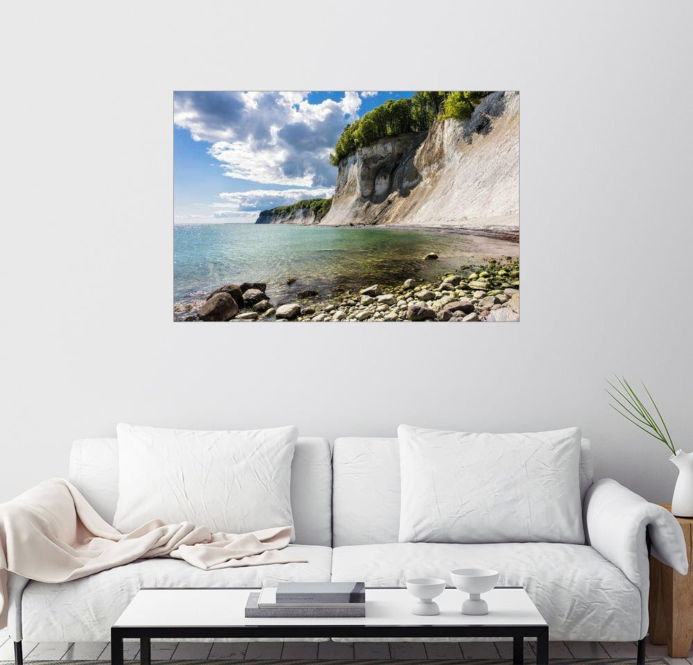 Posterlounge Wandbild - Rico Ködder »Kreidefelsen auf der Insel Rügen«