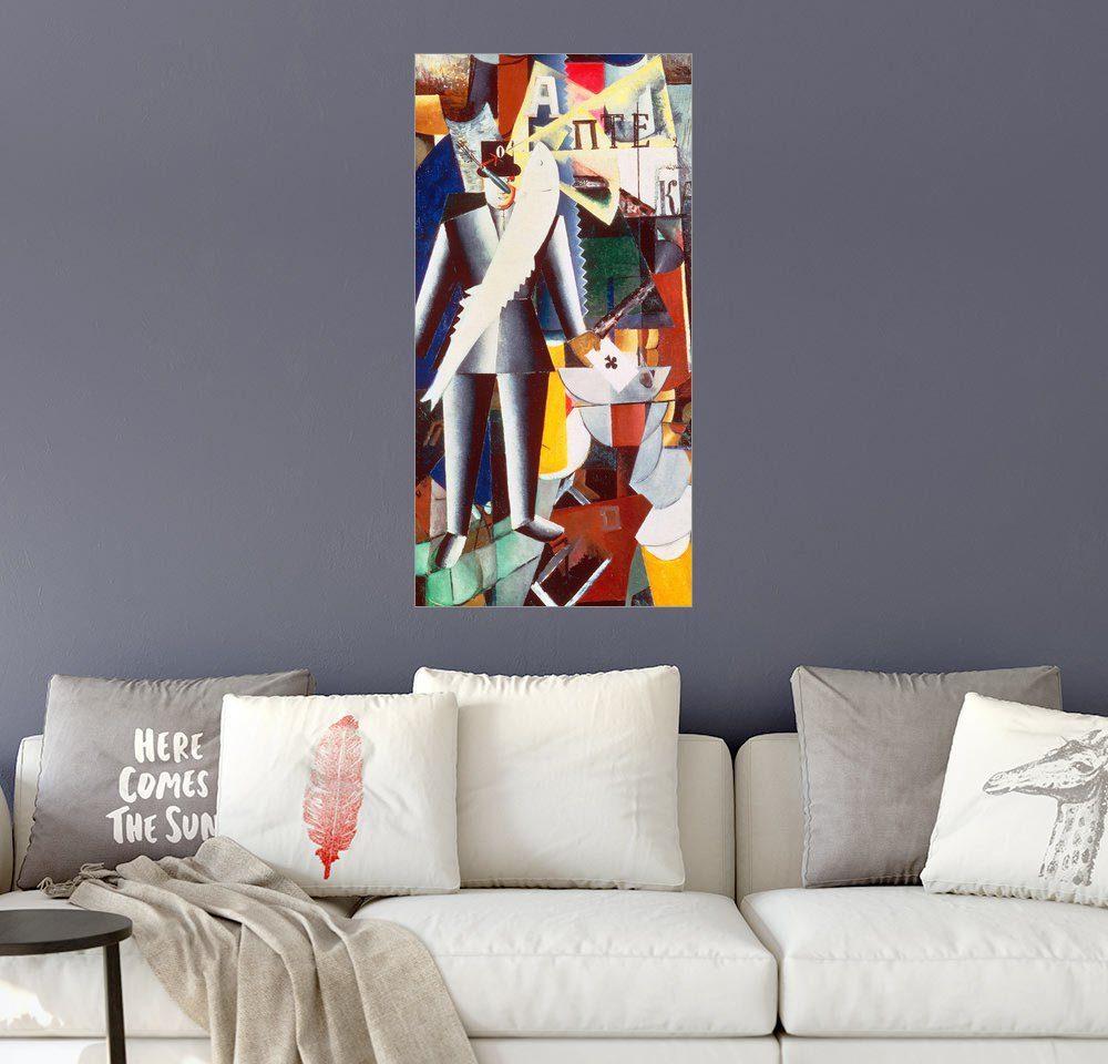 Posterlounge Wandbild - Kasimir Sewerinowitsch Malewitsch »Aviator«