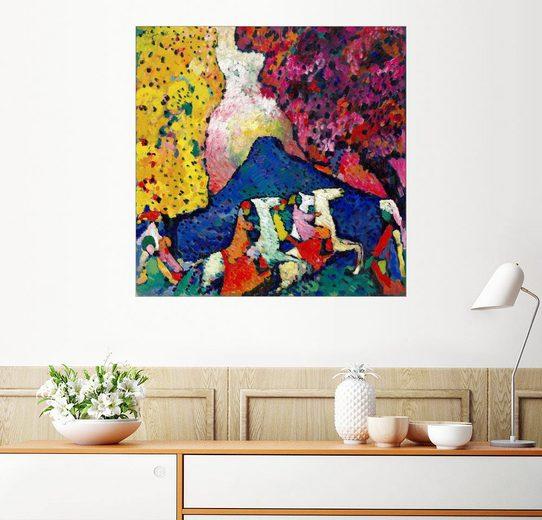 Posterlounge Wandbild - Wassily Kandinsky »Blauer Berg«