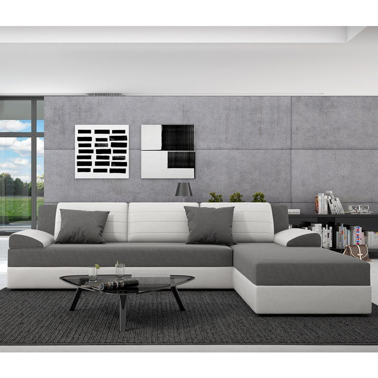 Innocent Sofa mit Schlaffunktion Kunstleder und Sitzfläche Textil »Rasasy«