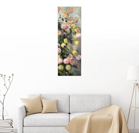Posterlounge Wandbild - Claude Monet »Dahlien«