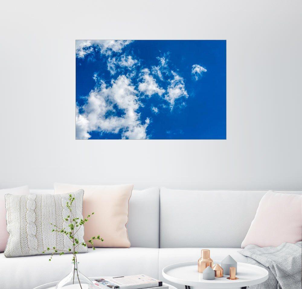 Posterlounge Wandbild - Andreas Kossmann »Himmel II« | Dekoration > Bilder und Rahmen > Bilder | Blau | Posterlounge