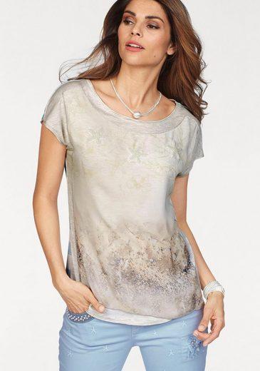 Sportalm Kitzbühel T-Shirt, mit modischen Perlensternen