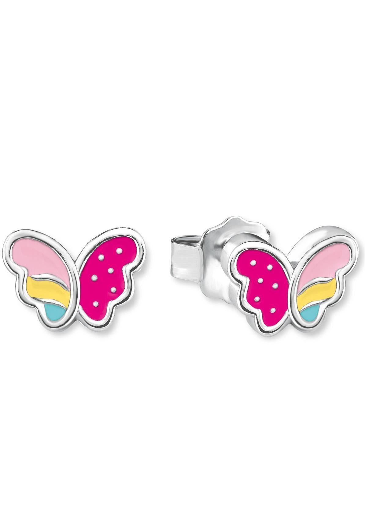 Prinzessin Lillifee Paar Ohrstecker »Schmetterling, 2020969« mit Emaille