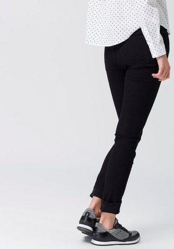 Damen edc by Esprit Skinny-fit-Jeans im Five-Pocket-Design mit hohem Bund schwarz | 04059602840237