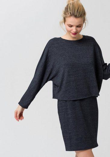 EDC by Esprit 2-in-1-Kleid, mit festem Oberteil und Rückenschlitz