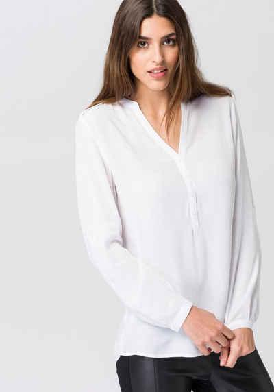 Esprit Hemdbluse, mit Schulterklappen