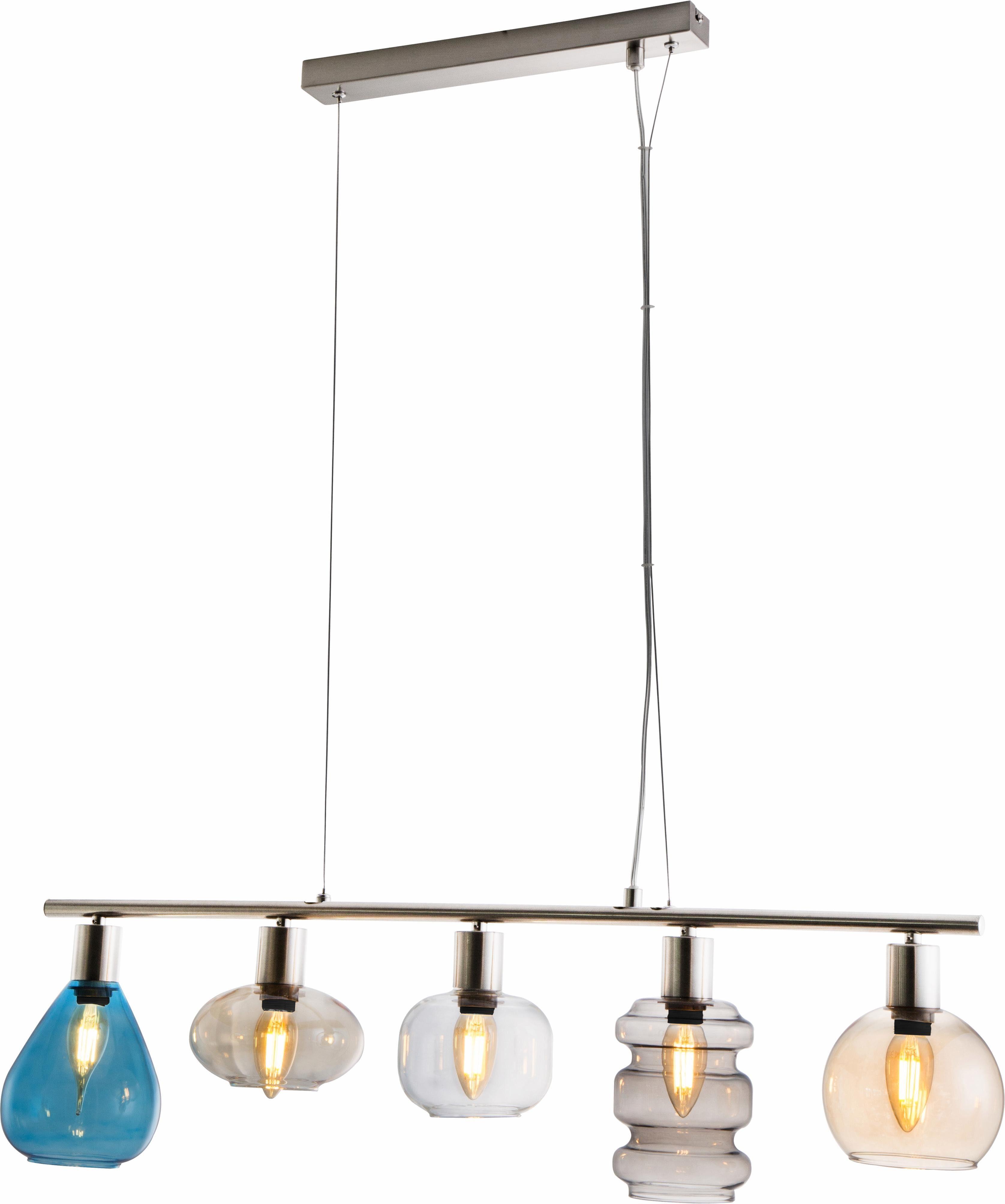 Nino Leuchten Pendelleuchte »PESARO«, 5-flammig