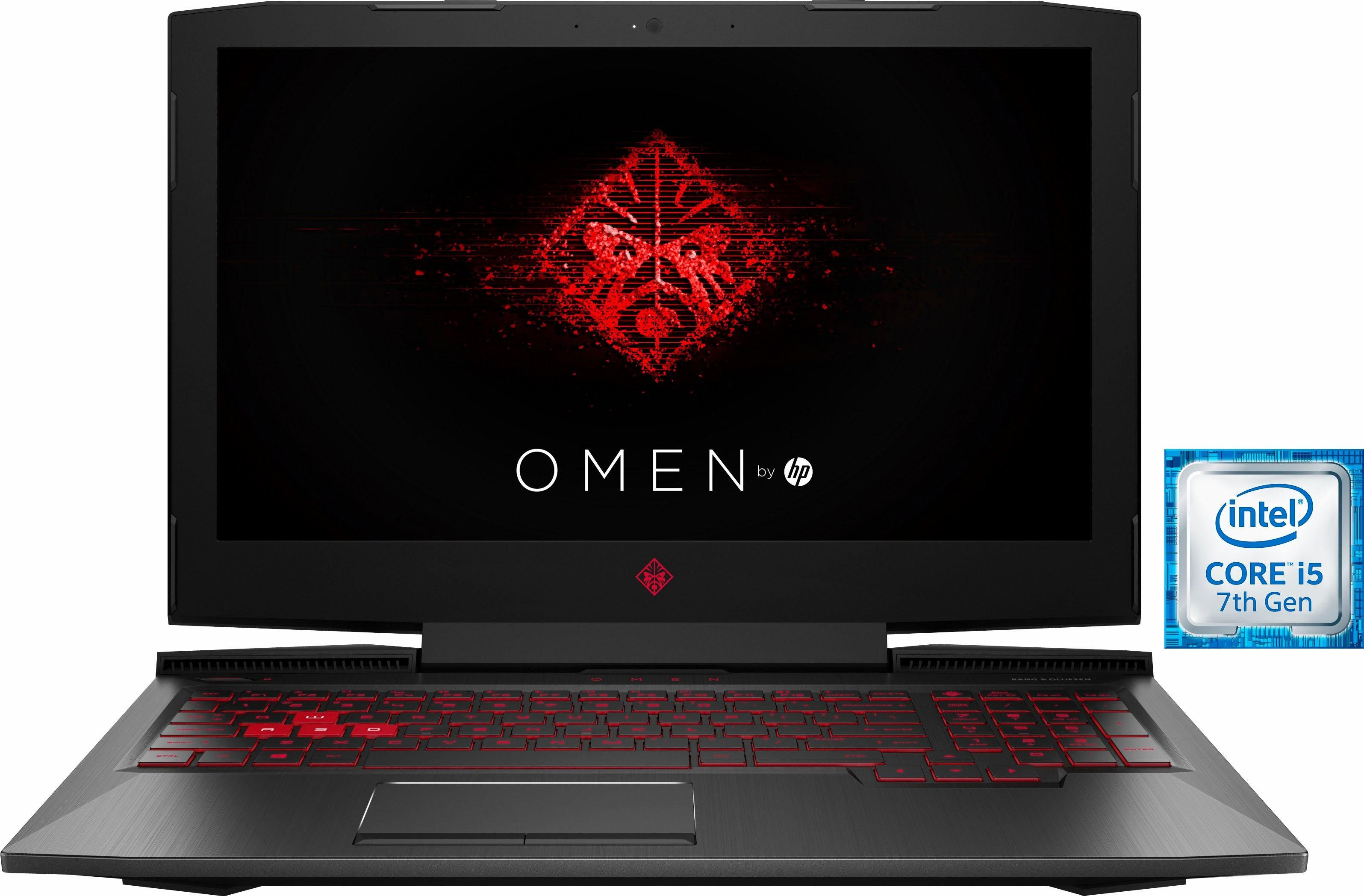 OMEN by HP 15-ce003ng Gaming-Notebook (39,6 cm/15,6 Zoll, Intel Core i5, GeForce, 1000 GB HDD, 128 GB SSD)