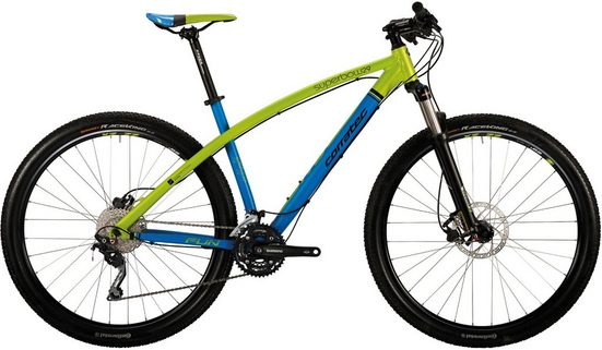 corratec Mountainbike »SuperBow Fun 29«, 30 Gang Shimano