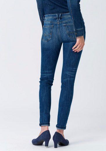 edc by Esprit Stretch-Jeans mit Ziernähten und schmaler Passform