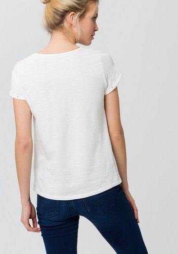 EDC by Esprit T-Shirt, mit Aufdruck in Herzform