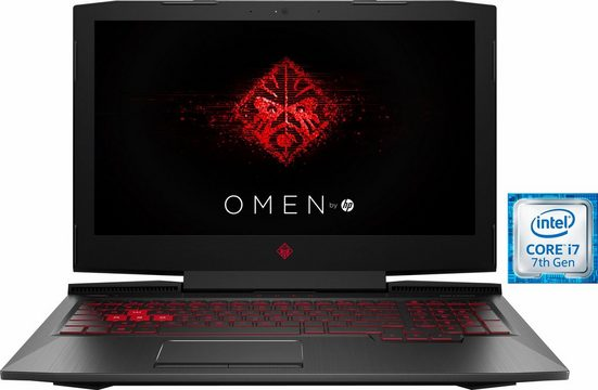 OMEN by HP 15-ce016ng Gaming-Notebook (39,6 cm/15,6 Zoll, Intel Core i7, GeForce, 1000 GB HDD, 128 GB SSD)