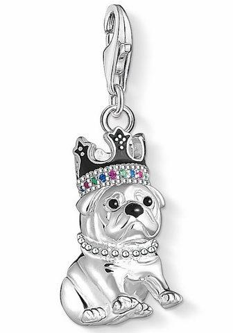 Кулон »Bulldogge с Krone 1510-49...