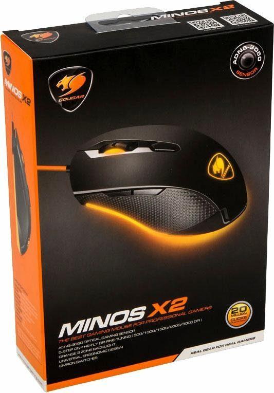 Cougar Minos X2 Gaming-Maus