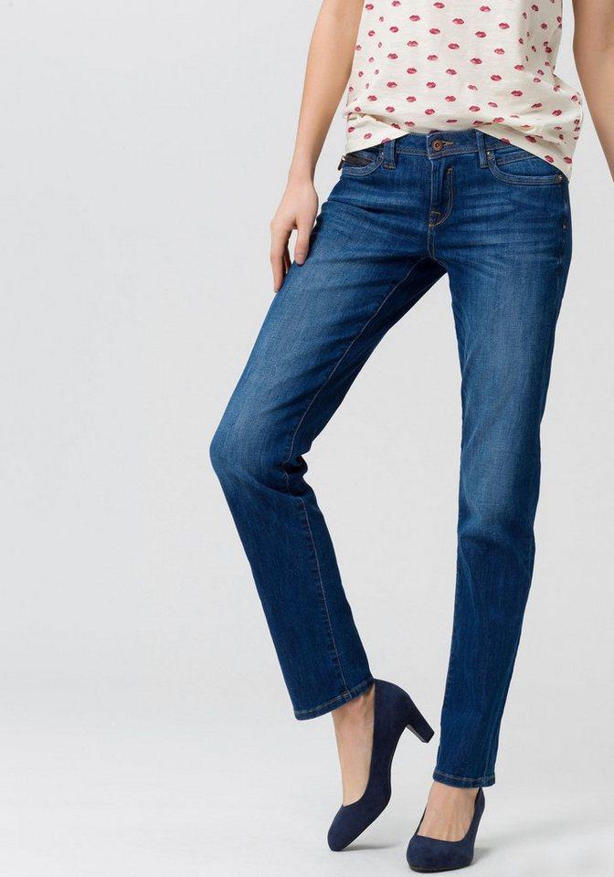 24d1caeafc67c4 edc by Esprit Straight-Jeans mit Münztasche mit Reißverschluss ...