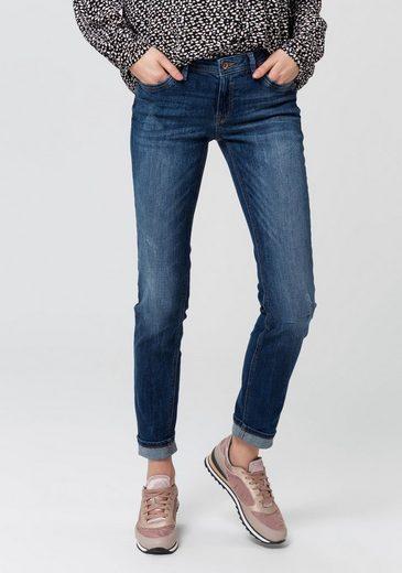 EDC by Esprit Slim-fit-Jeans, mit Used- und Wash-out-Effekten