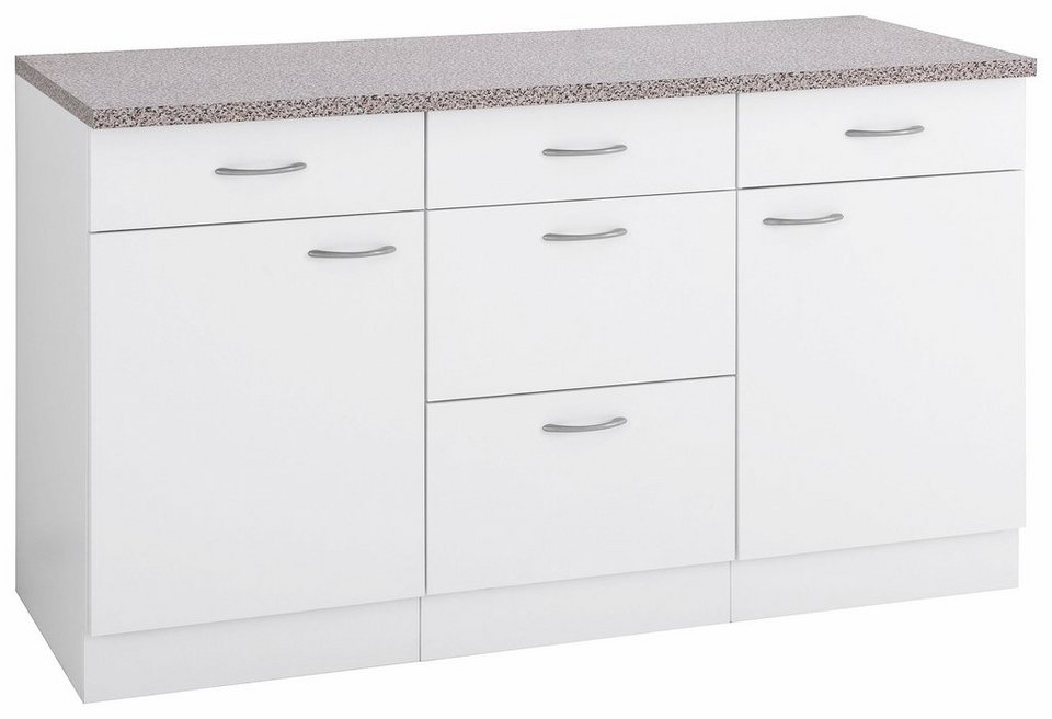wiho k chen unterschrank kiel 150 60 85 cm otto. Black Bedroom Furniture Sets. Home Design Ideas