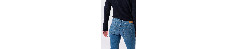 ESPRIT Slim-fit-Jeans, mit Ziernähten und Waschung