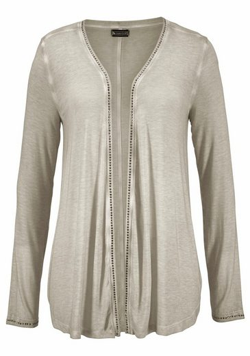 Laura Scott Shirtjacke, mit glitzernden Nieten