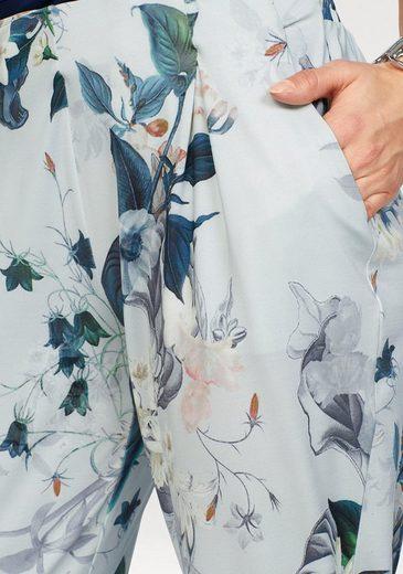 Laura Scott Bundfaltenhose, mit dehnbarem Hüftbund