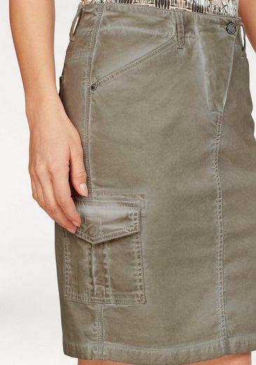 Mini-jupe Laura Scott, Avec Poche Plaquée