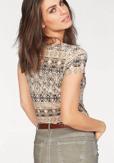 Laura Scott T-Shirt, mit exotischem Print