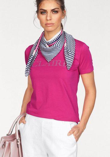 CLAIRE WOMAN T-Shirt, mit Glanzsteinchen
