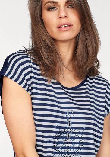 Laura Scott T-Shirt, mit Anker Motiv