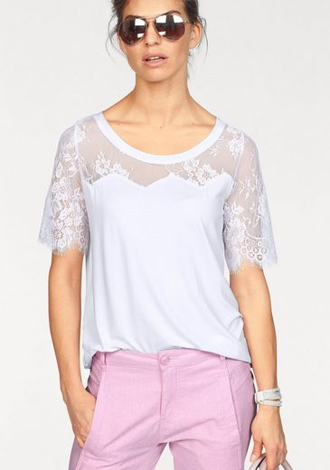 Claire Woman T-shirt, With Delicate Lace