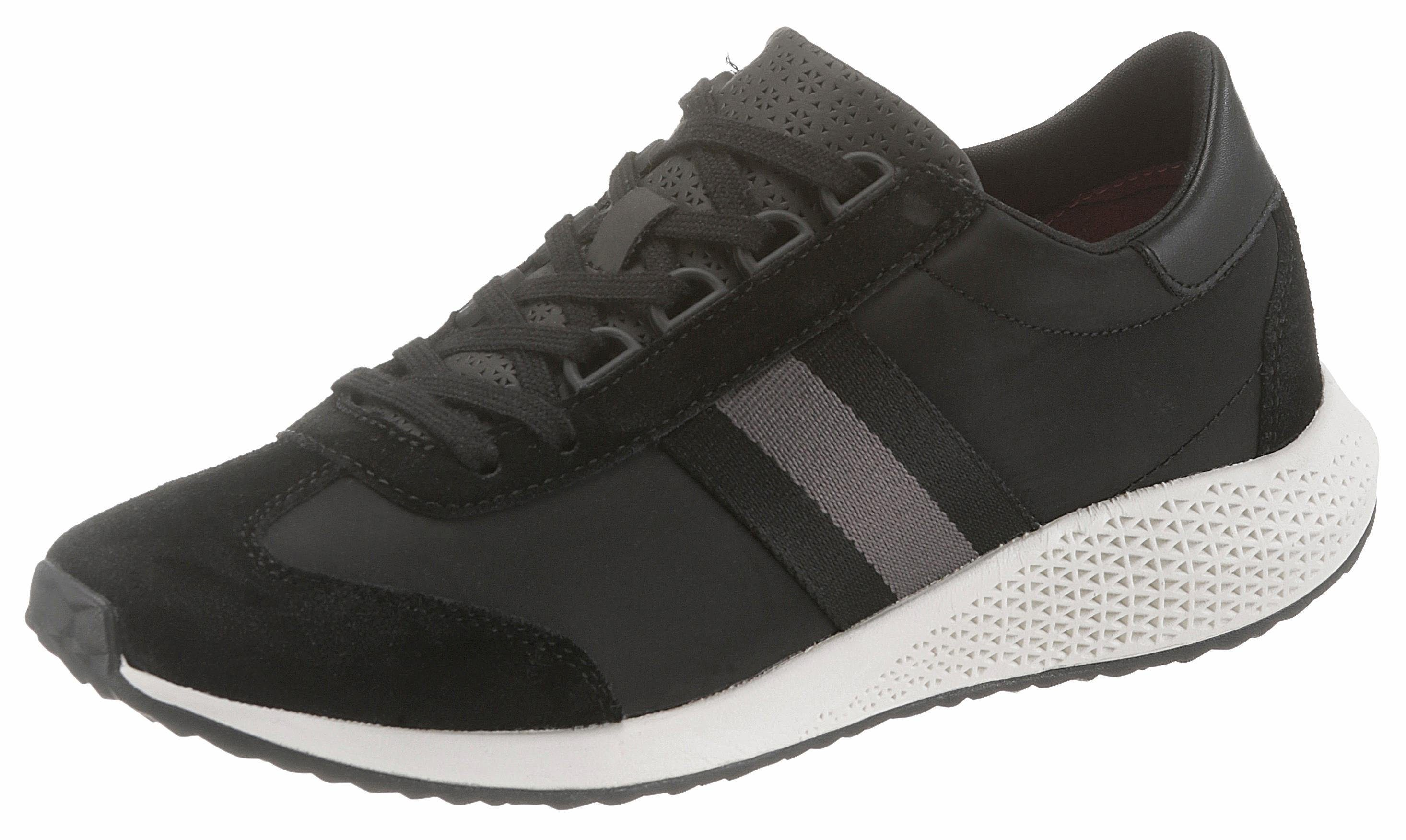 Tamaris »Fashletics« Sneaker, mit farbigen Kontrastbesätzen, weiß, 39 39