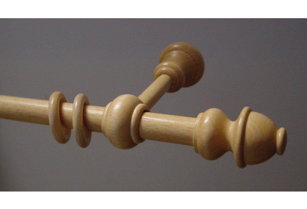 Echtholz-Gardinenstange »Standard«, Garesa, nach Maß