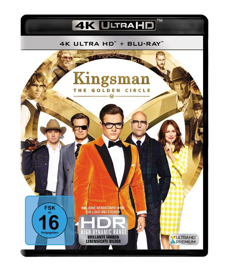 Fox BLU-RAY Film »Kingsman - The Golden Circle (4K UHD)«