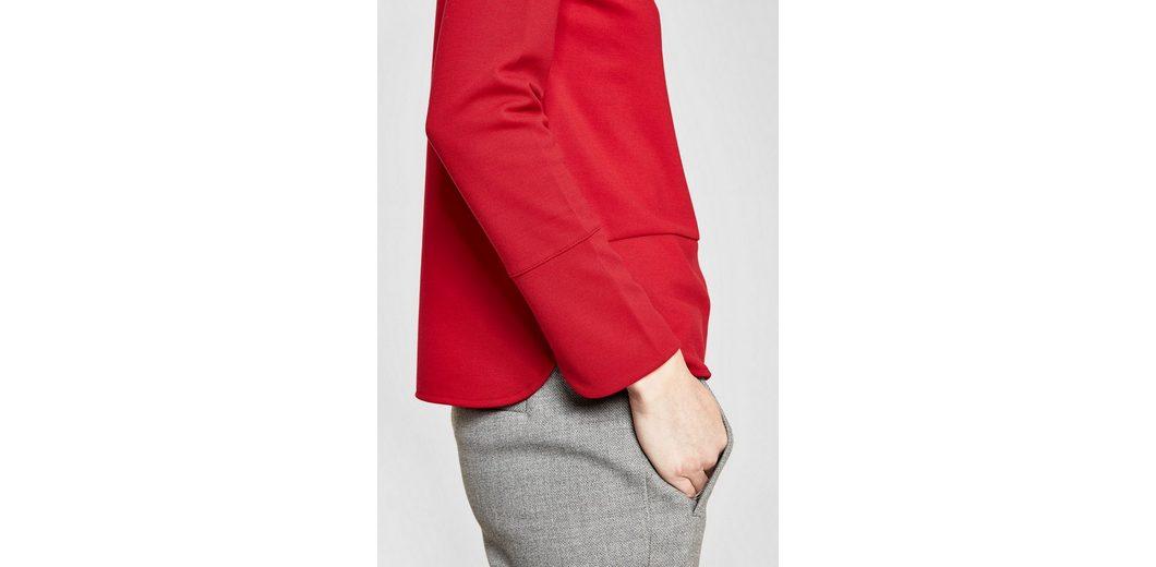 Kaufen Billig Großhandelspreis s.Oliver RED LABEL Interlock-Shirt mit U-Boot-Ausschnitt Manchester Große Online-Verkauf Verkauf Truhe Finish Von Freiem Verschiffen Des Porzellans Wirklich Billig Preis WEfJUguRN