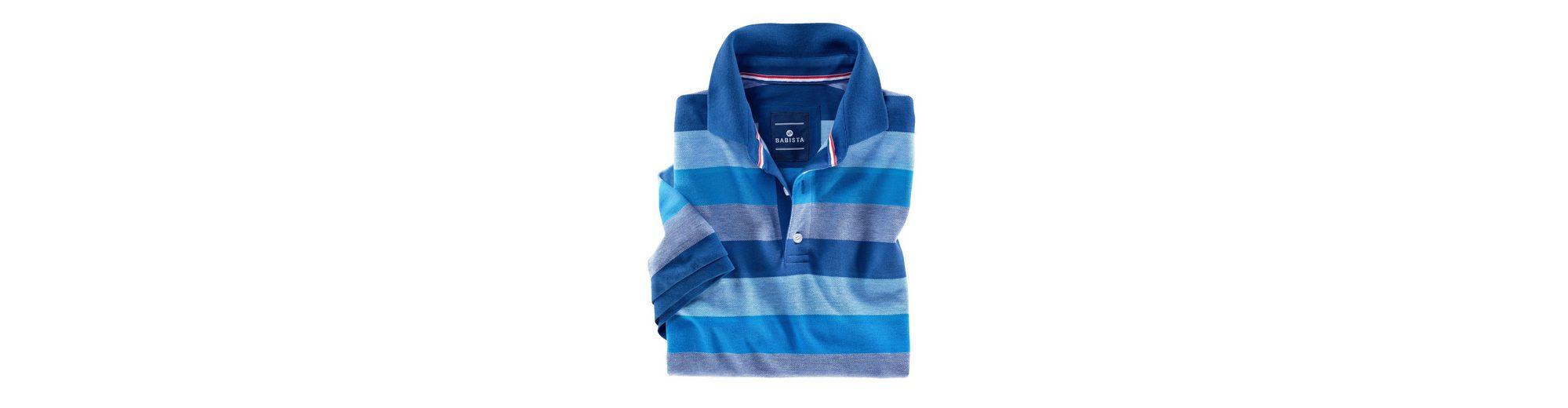 Babista Poloshirt in zweifarbiger Optik Rabatt-Codes Online-Shopping eH8zL1M