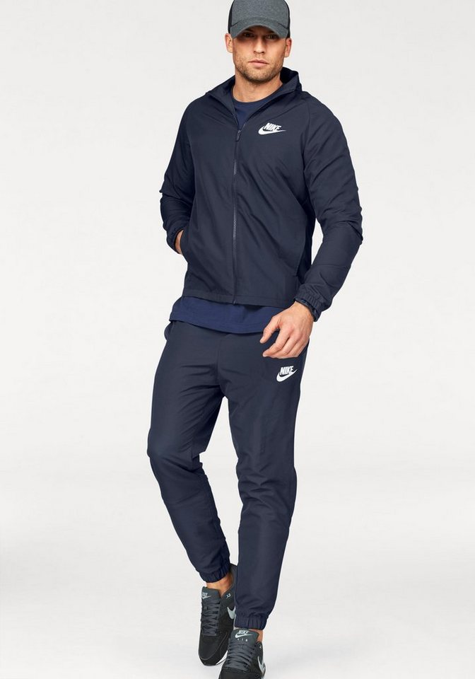 9aa948cff48f5 Nike Sportswear Trainingsanzug »TRACK SUIT WOVEN BASIC« (Set