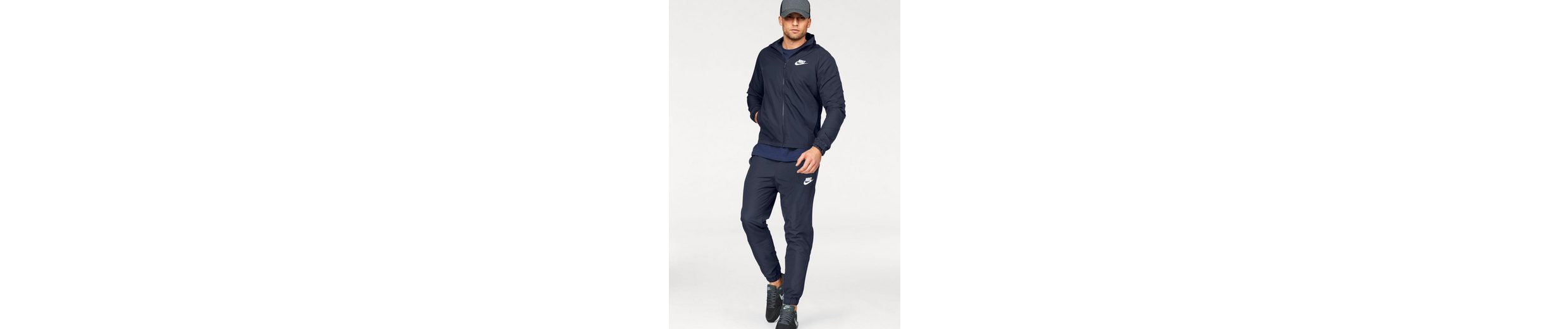 Nike Sportswear Trainingsanzug TRACK SUIT WOVEN BASIC