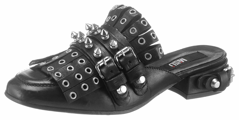 MIMMU Clog, mit Zierschnallen online kaufen  schwarz