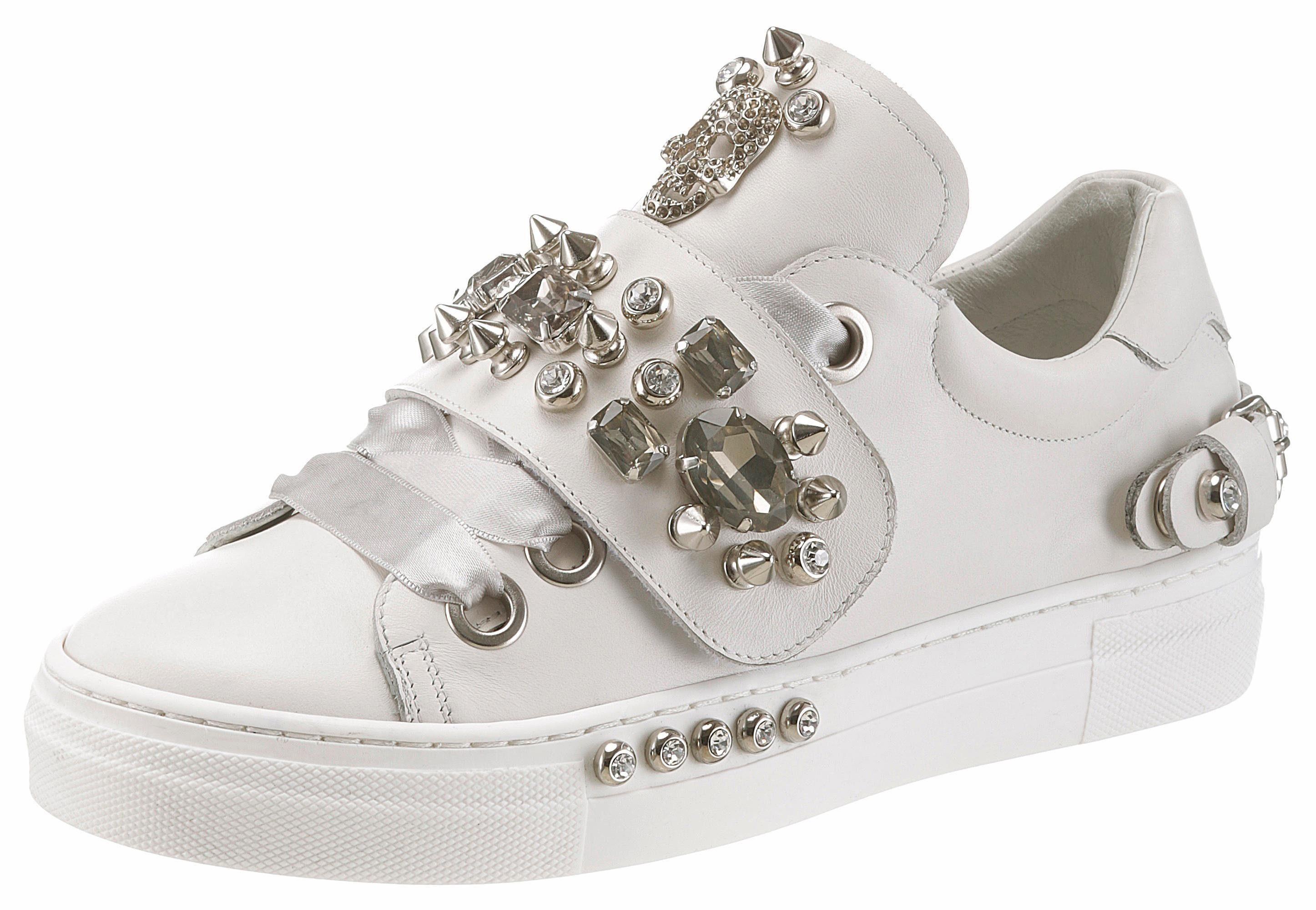 MIMMU Sneaker, mit Plateau online kaufen  weiß