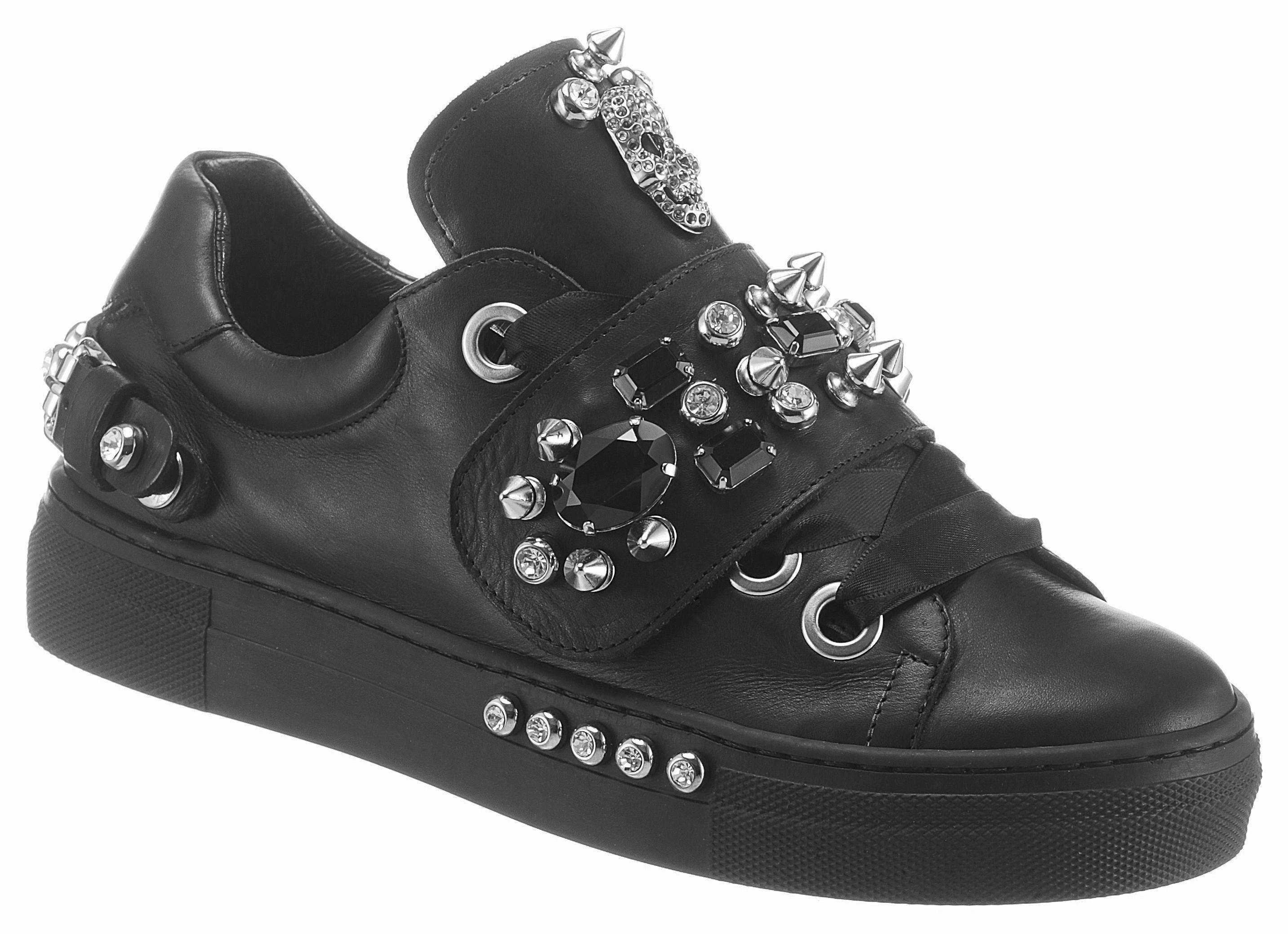 MIMMU Sneaker, mit Plateau online kaufen  schwarz