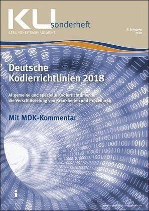 Broschiertes Buch »Deutsche Kodierrichtlinien 2018«