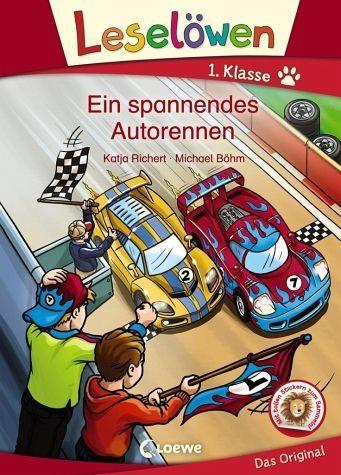 Gebundenes Buch »Leselöwen 1. Klasse - Ein spannendes Autorennen«