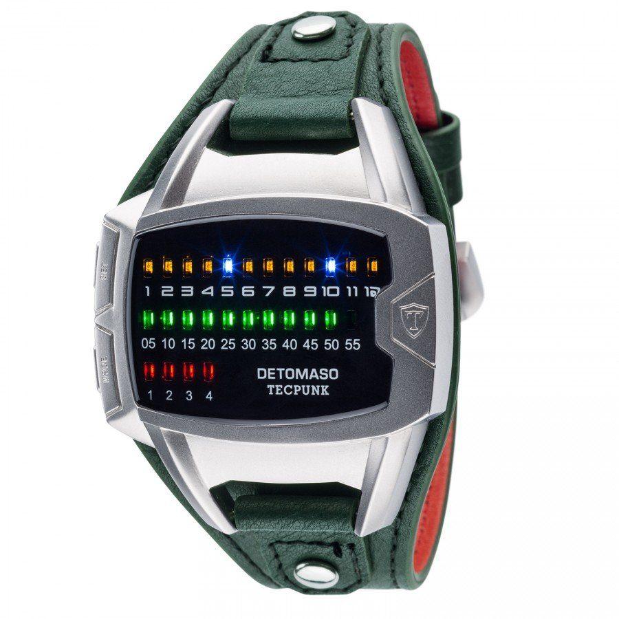 Detomaso Digitaluhr »DETOMASO Digitaluhr TECPUNK, DT-YG106-D«