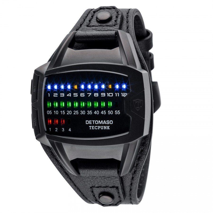 Detomaso Digitaluhr »TECPUNK BLACK«