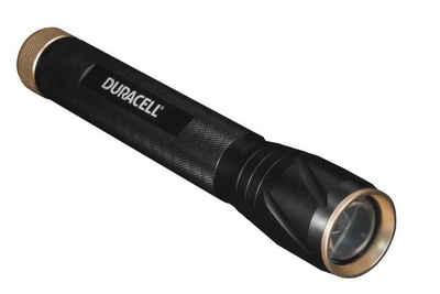 Duracell LED Taschenlampe, Duracell Alu LED Taschenlampe 550lm 25cm SOS Stroboskop Camping Lampe Leuchte inklusive Batterien
