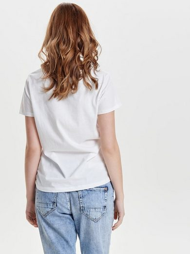Only Printed Shell With Short Sleeves