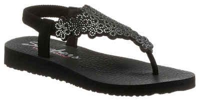 Skechers Sandale in funkelnder Optik